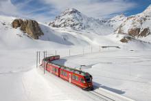Rhétská dráha, průsmik Bernina